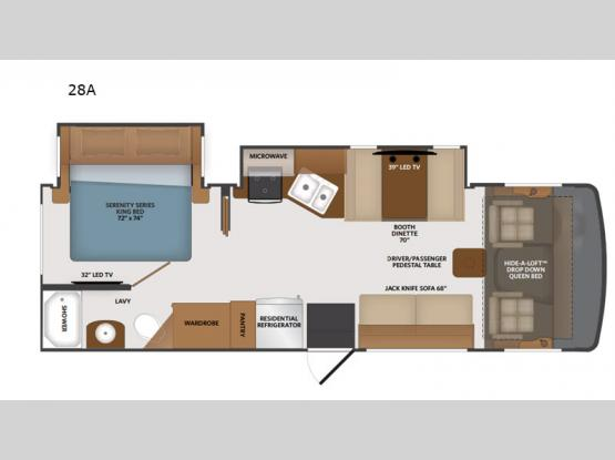 Flair 28A Floorplan Image
