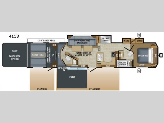 Seismic 4113 Floorplan Image
