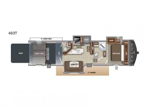 Talon 403T Floorplan Image