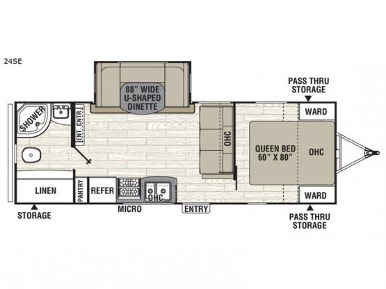 Freedom Express 24SE Floorplan Image