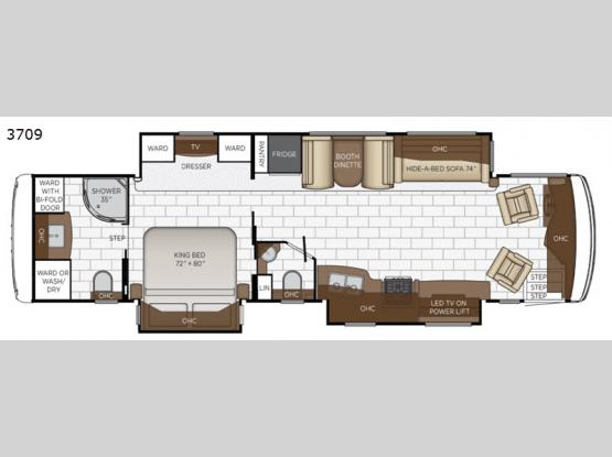 Kountry Star 3709 Floorplan Image