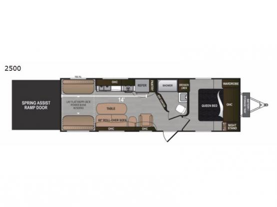 Rubicon 2500 Floorplan Image