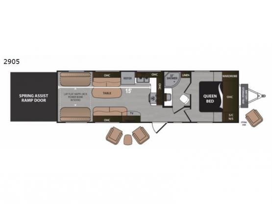 Rubicon 2905 Floorplan Image