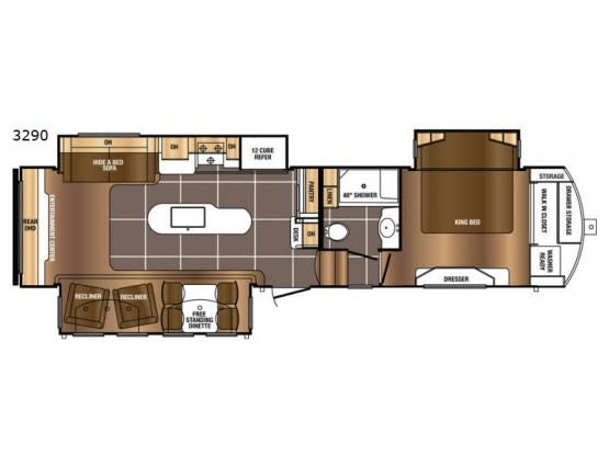 Sanibel 3290 Floorplan Image