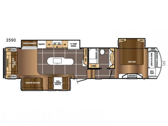 Sanibel 3590 Floorplan Image