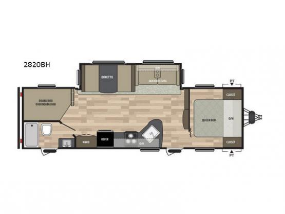 Summerland 2820BH Floorplan Image