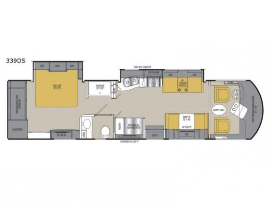 Sportscoach Cross Country SRS 339DS Floorplan Image
