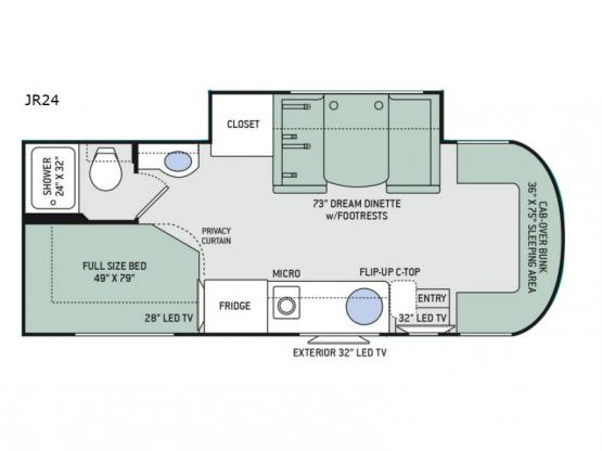 Synergy JR24 Floorplan Image