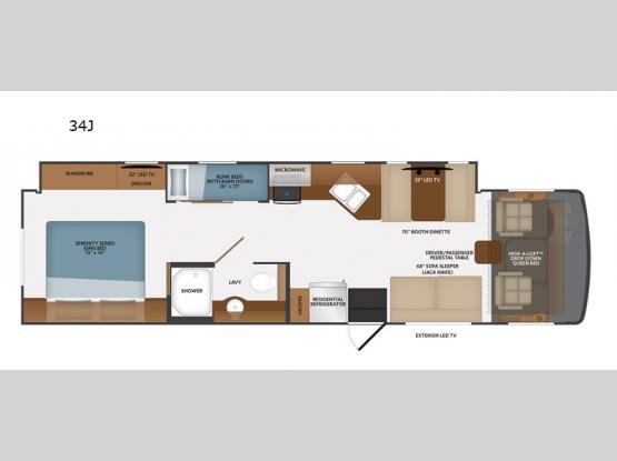 Flair 34J Floorplan Image