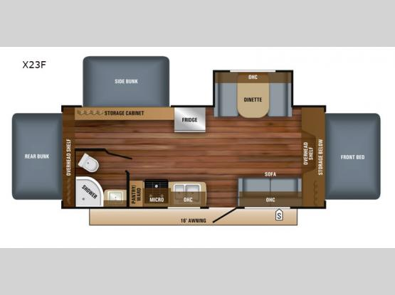 Jay Feather X23F Floorplan Image