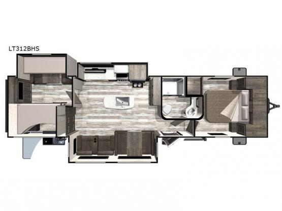 Open Range Light LT312BHS Floorplan Image