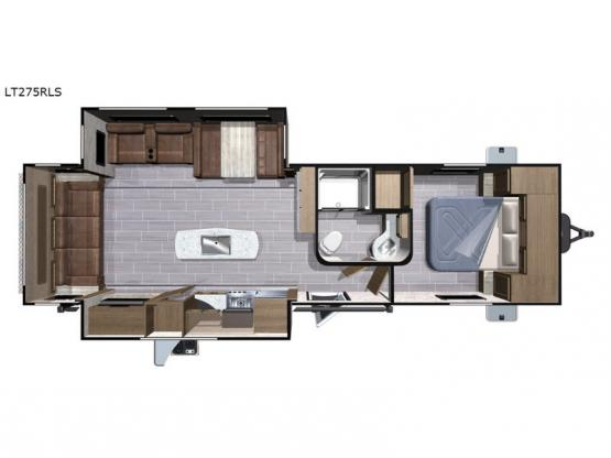 Open Range Light LT275RLS Floorplan Image