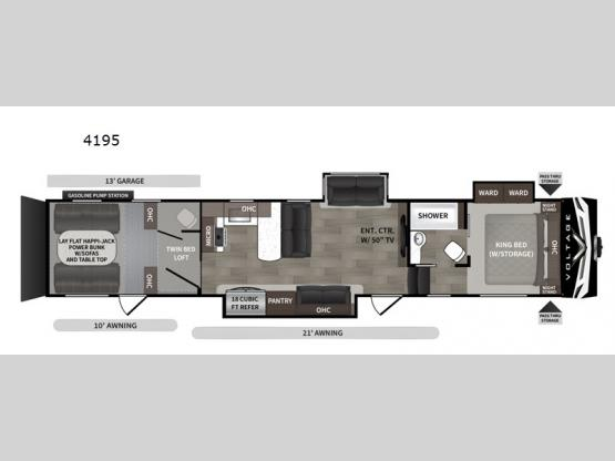 Voltage V4195 Floorplan Image