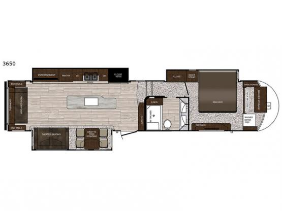 Sanibel 3650 Floorplan Image