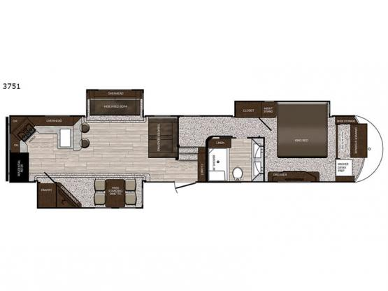 Sanibel 3751 Floorplan Image