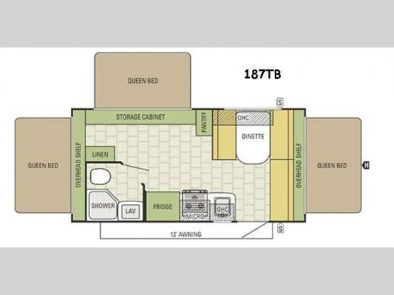 Travel Star 187TB Floorplan Image