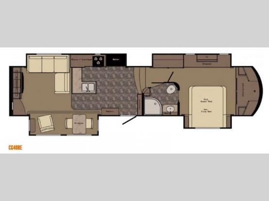 Carriage CG40RE Floorplan Image