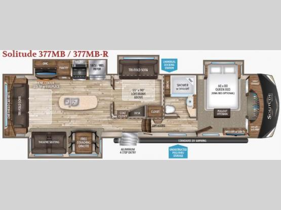 Solitude 377MB Floorplan Image
