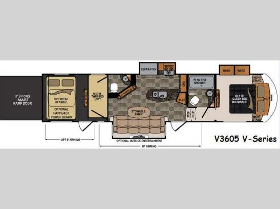 Voltage V-Series V3605 Floorplan Image