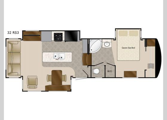 Floorplan - 2018 Mobile Suites 32 RS3 Fifth Wheel