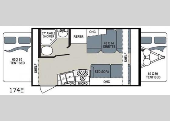 Floorplan - 2018 Aerolite 174E Expandable