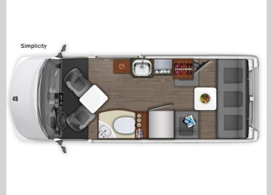 New EHGNA Roadtrek Simplicity Motor Home Class B for Sale
