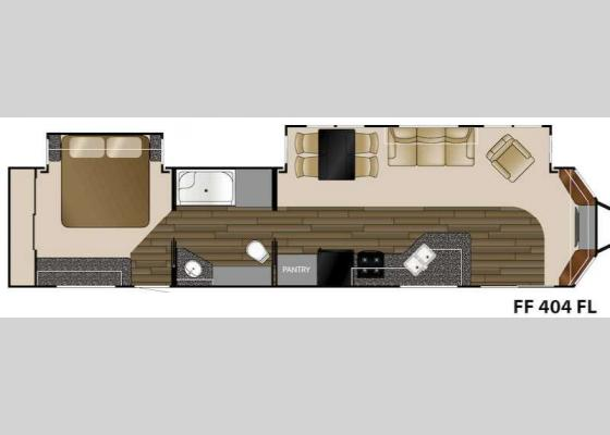 Floorplan - 2016 Fairfield 404FL Destination Trailer