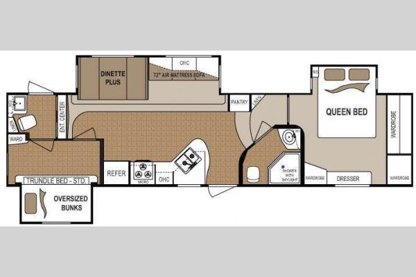 Floorplan - 2011 Dutchmen RV Denali 325RBS