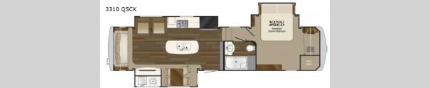 Big Country 3310QSCK Floorplan