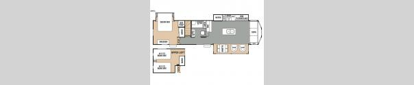Cedar Creek Cottage 40CL Floorplan