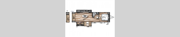 Wildwood 27REI Floorplan