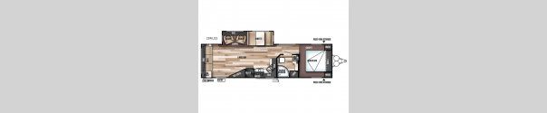 Wildwood 28RLSS Floorplan