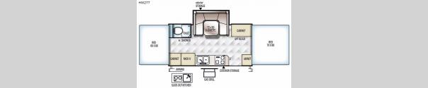 Rockwood High Wall Series HW277 Floorplan
