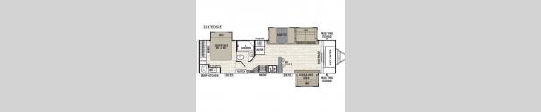 Freedom Express Liberty Edition 321FEDSLE Floorplan