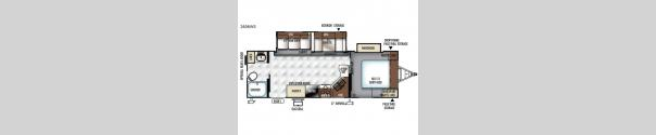 Rockwood Ultra Lite 2606WS Floorplan