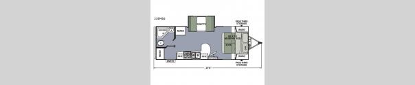 Apex Ultra-Lite 238MBS Floorplan
