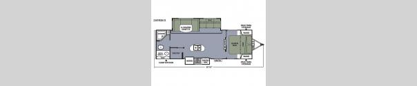 Apex Ultra-Lite 269RBKS Floorplan