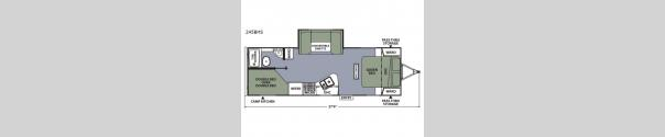 Apex Ultra-Lite 245BHS Floorplan