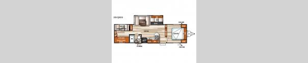 Salem 30KQBSS Floorplan
