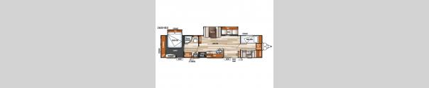 Salem 36BHBS Floorplan