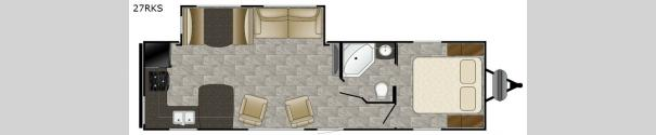 Trail Runner 27RKS Floorplan