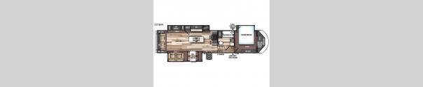 Wildwood Heritage Glen 337BAR Floorplan
