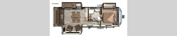 Open Range Light LF297RLS Floorplan