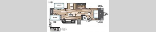 Wildwood Heritage Glen 300BH Floorplan