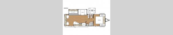 Catalina Legacy 263RLS Floorplan
