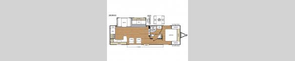 Catalina Legacy 283RKS Floorplan