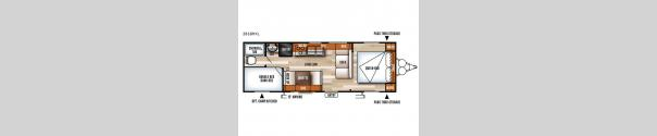 Salem Cruise Lite 261BHXL Floorplan