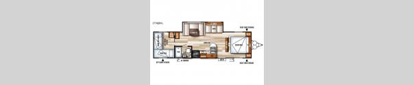 Salem Cruise Lite 273QBXL Floorplan