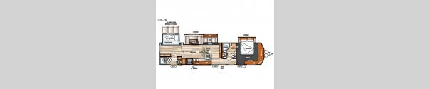 Salem Villa Series 426-2B Classic Floorplan