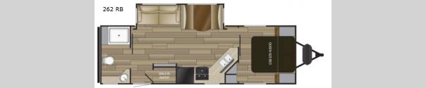 Sundance Ultra Lite 262 RB Floorplan